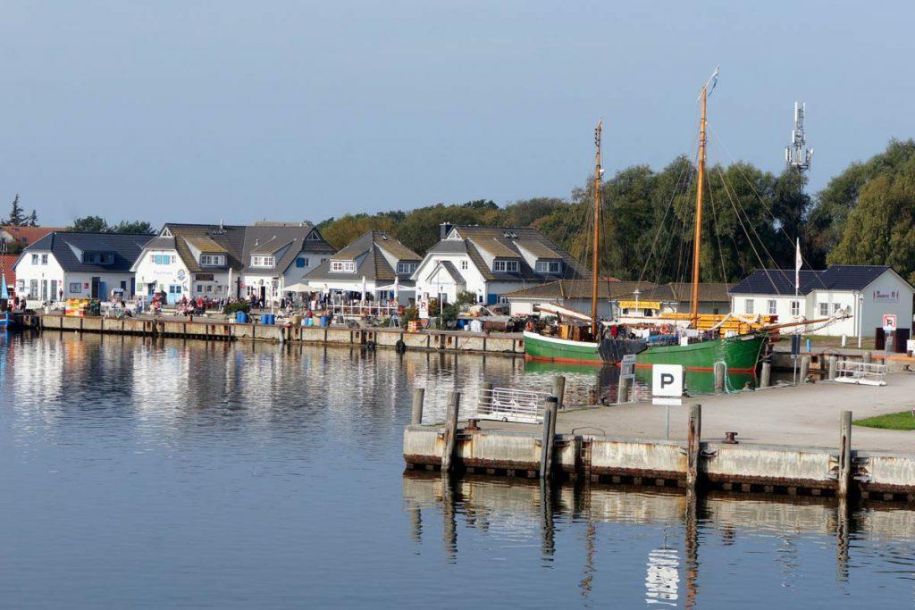 Hafen Vitte Hiddensee