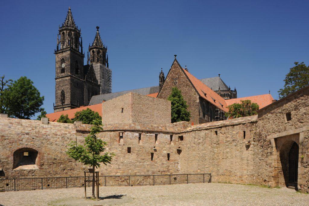 Festungsanlage am Magdeburger Dom